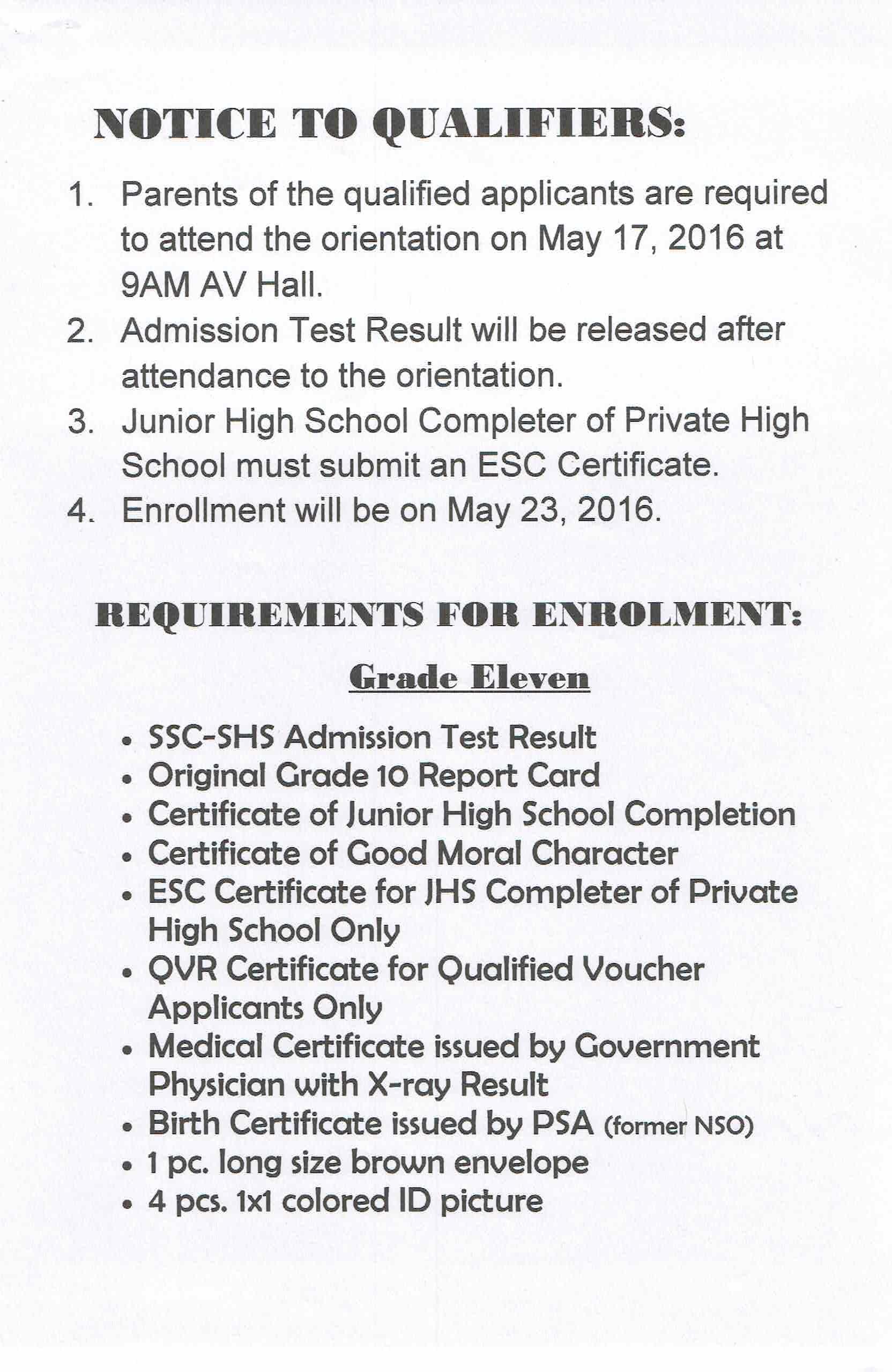Admission test result senior high applicants stem track 03 admission test result senior high applicants stem track 03 aiddatafo Gallery