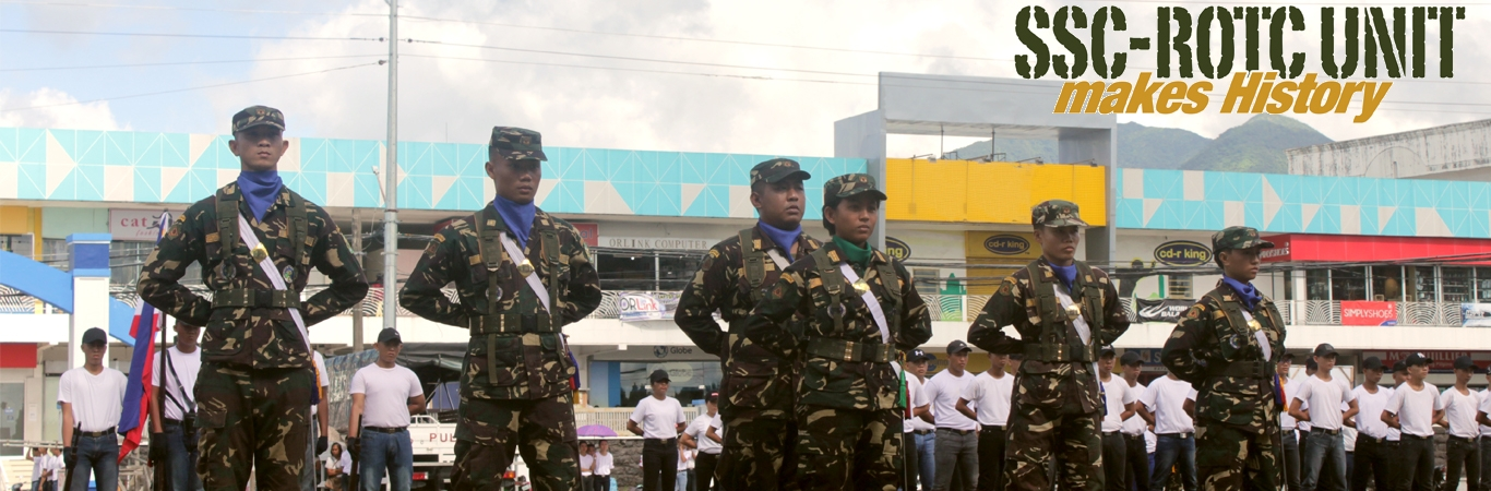 SSC ROTC UNIT makes history